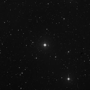 DSS image of HD 16673
